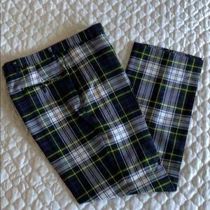 Tommy Hilfiger Men's Plaid Wool Pants -Size 32
